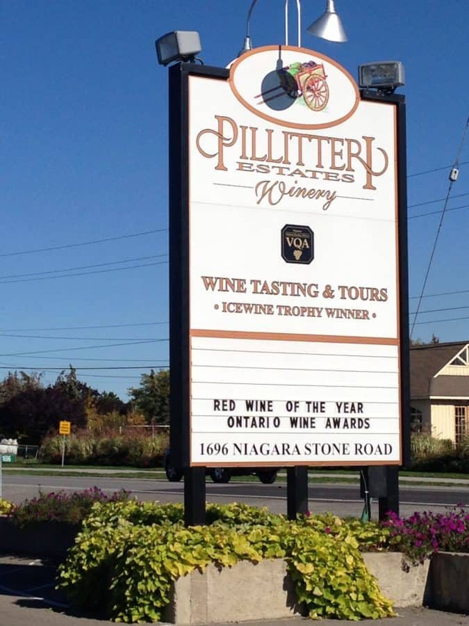 pillitteri winery fun activities around niagara falls
