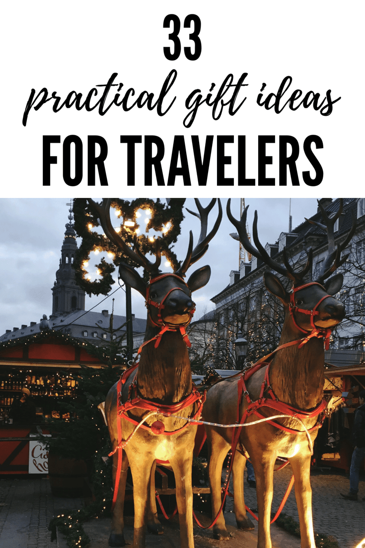 33 Practical Gift Ideas for Travelers