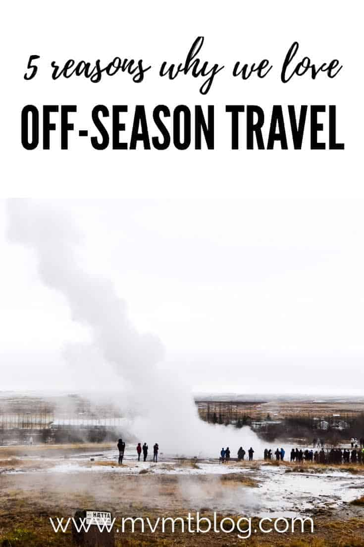 5 reasons why we love off-season travel