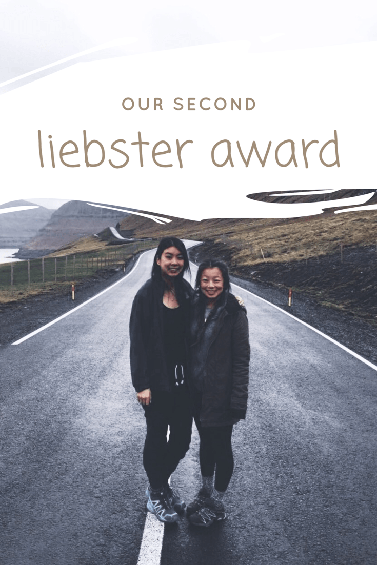 Our Second Liebster Award