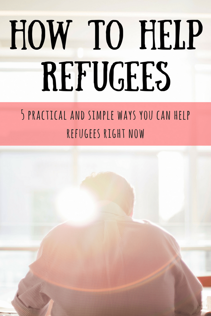 How You Can Help Refugees Right Now